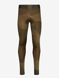 DNAmic Primary Mens Long Tights - DECONSTRUCTED CAMO UTILITY
