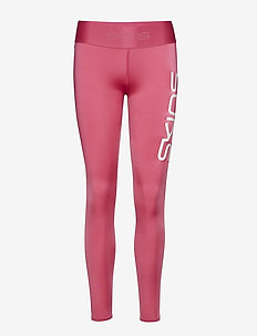 DNAmic Primary Womens Long Tights - PINK LOGO