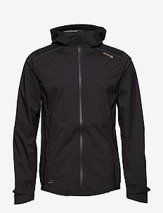 Activewear Jedeye Nano 3L Mens Rain Jacket - BLACK