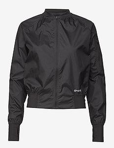 Activewear Trylen Womens Bomber Jacket - BLACK