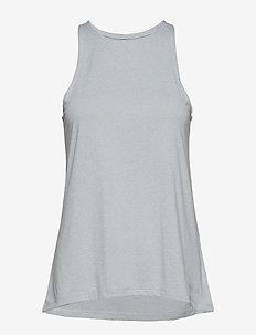 Activewear Siken Womens Tank Top - SILVER MARLE