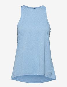 Activewear Siken Womens Tank Top - SKY BLUE MARLE
