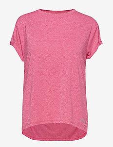 Activewear Siken Womens T-Shirt - PINK MARLE