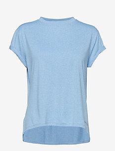 Activewear Siken Womens T-Shirt - SKY BLUE MARLE