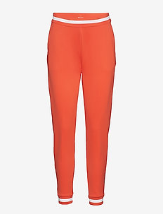 Activewear Holm Womens Training Pants - CORAL RED/WHITE