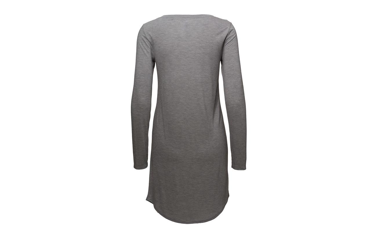 Modale Polyester Melange Skiny Stone L L Grey Sleepshirt 80 slv 20 xw1pvq184