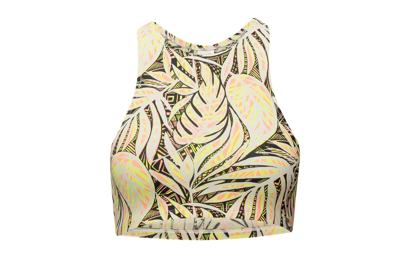 Skiny Inner Top Doublure Neon Elastane 16 100 High Jungle Polyester Neck 84 Polyester L vtr4qwPv