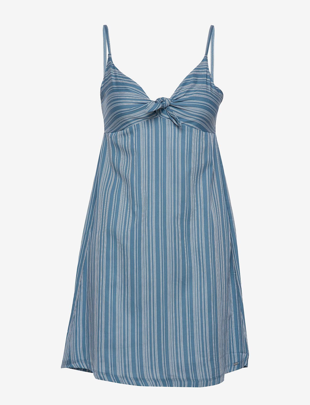 Skiny - L. dress - korte kjoler - coronetblue stripe - 0