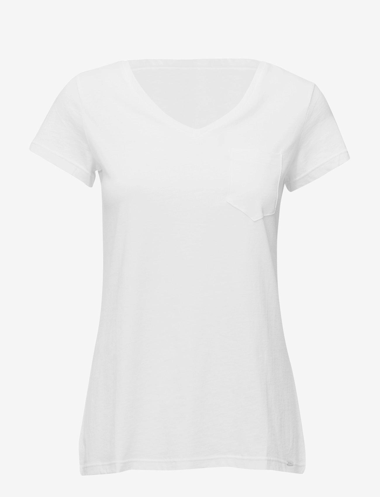 Skiny - L. shirt s/slv - Överdelar - ivory - 0