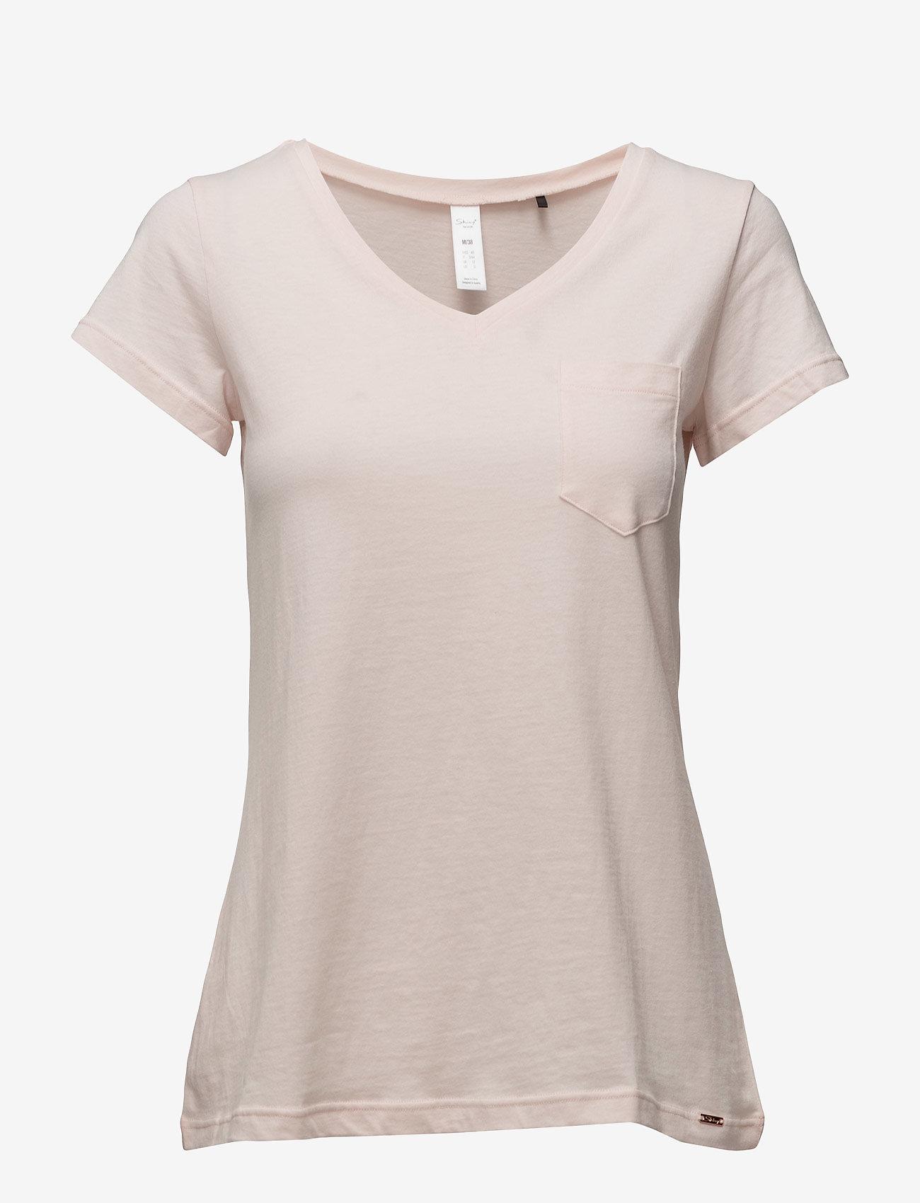 Skiny - L. shirt s/slv - overdeler - pearl blush - 0
