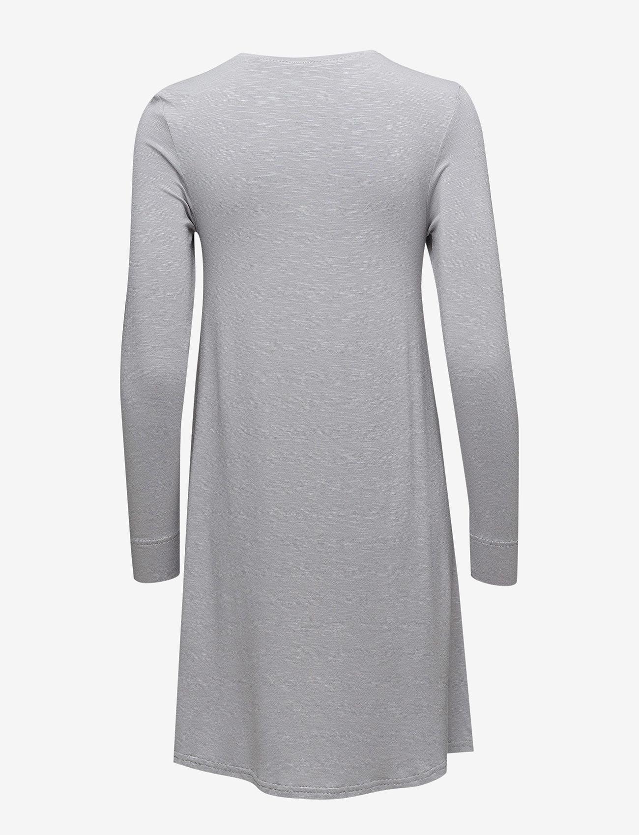 Skiny - L. sleepshirt l/slv - courtes robes - silver sconce
