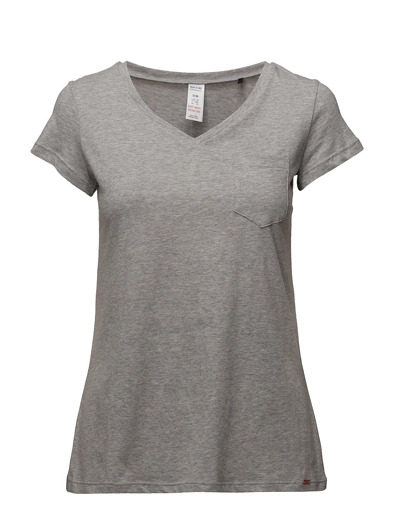 Skiny L. shirt s/slv - PEPPLE GREY MELANGE