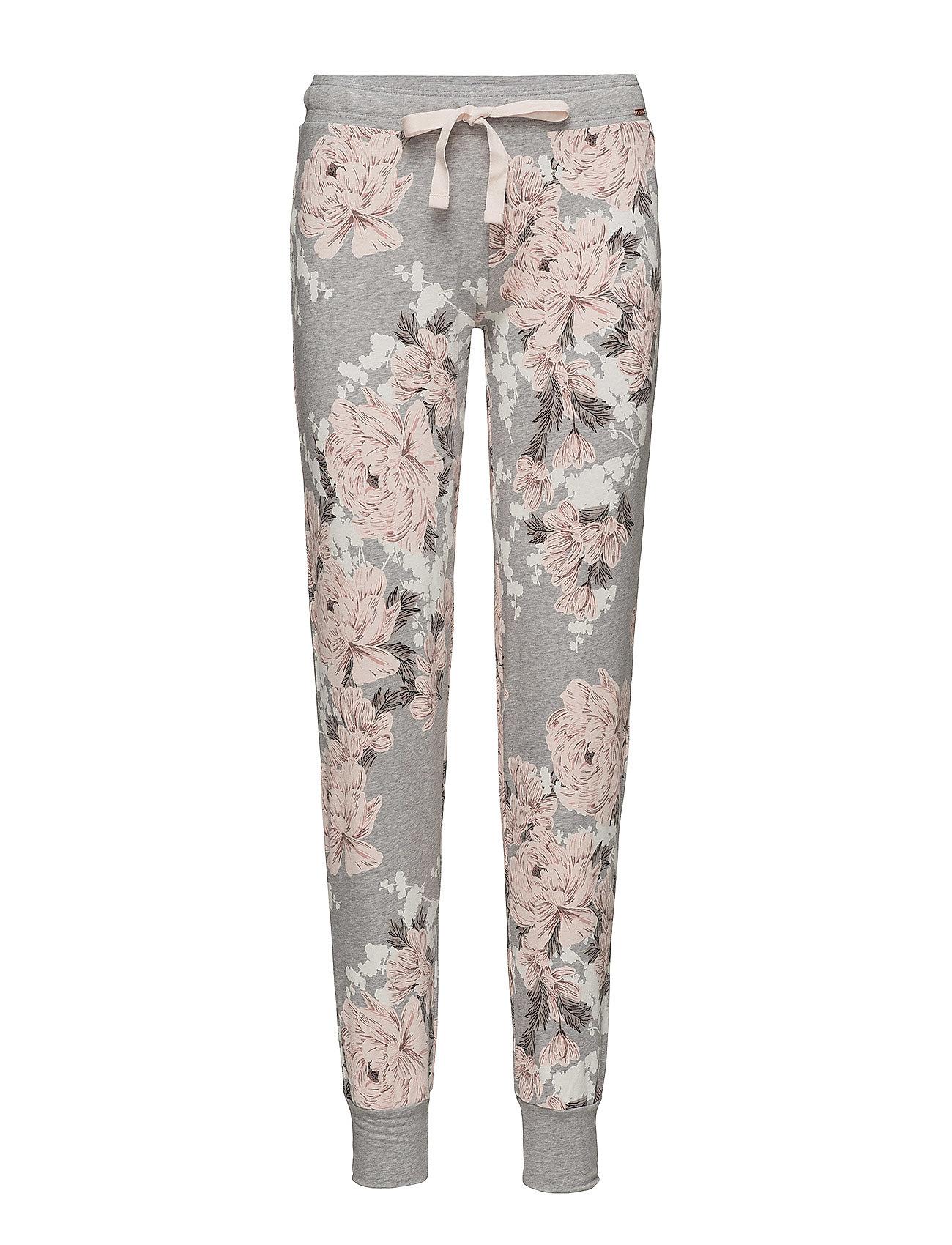 Skiny L. pants long - MELANGE FLOWER