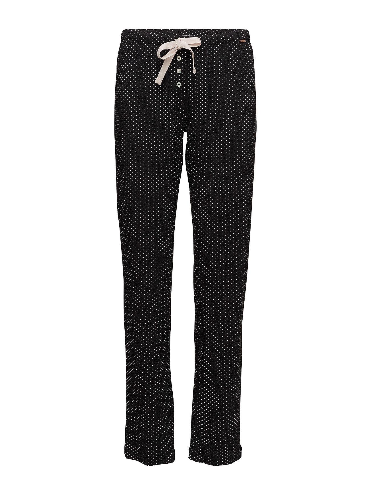 Skiny L. pants long - BLACK DOTS