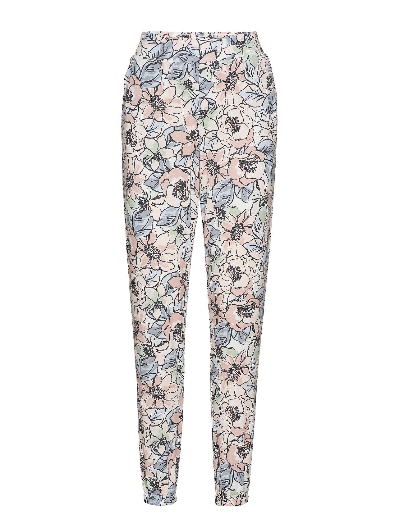 Skiny L. pant long - MAUVE FLOWER