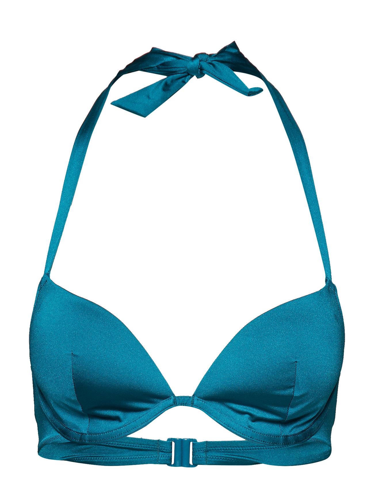 Skiny L. padded bra - SHINY GREEN