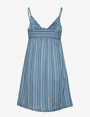 Skiny - L. dress - korte kjoler - coronetblue stripe - 1