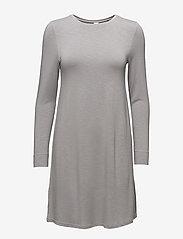 Skiny - L. sleepshirt l/slv - courtes robes - silver sconce - 0