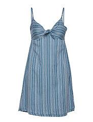L. dress - CORONETBLUE STRIPE