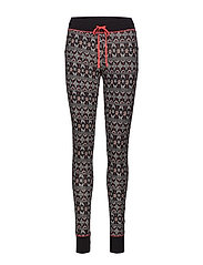 L. pyjama long - BLACK CRYSTAL