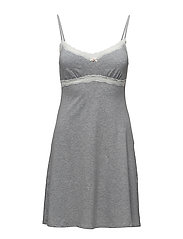 L. slipdress - GREY STONE MELANGE