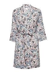 L. kimono - MAUVE FLOWER