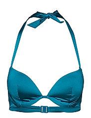L. padded bra - SHINY GREEN