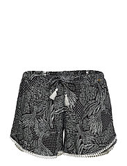 Skiny L. shorts - BLACK HUMMINGBIRD
