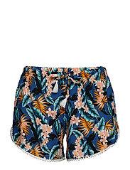 L. shorts - BLUE HAWAIIAN