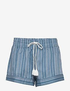 L. shorts - CORONETBLUE STRIPE