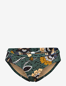 L. panty - bikini bottoms - pine cornflowers