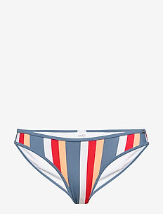 L. bikini briefs - bikini bottoms - bluered stripe