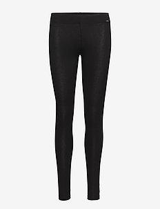 L. leggings long - BLACK