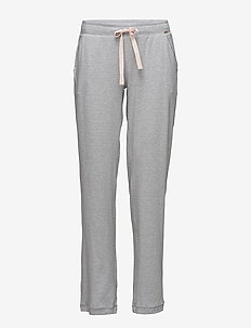 L. pant long - STONE GREY STRIPE