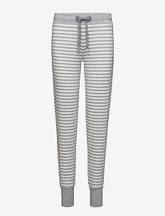 L. pants long - IVORY STRIPE