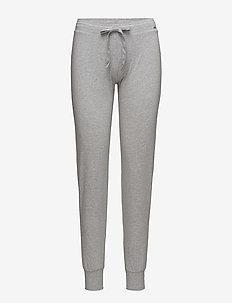 L. pants long - bottoms - stone grey melange