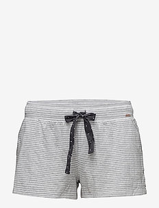 L. shorts - STONE GREY STRIPE
