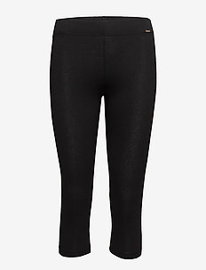 L. leggings 3/4 length - leggings - black