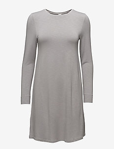L. sleepshirt l/slv - short dresses - silver sconce