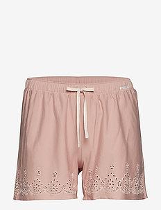 L. shorts - SMOKE ROSE