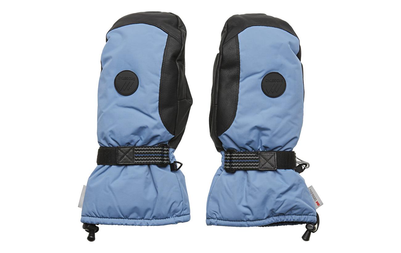 Skogstad Salbu 2-Layer Fleece Gloves - DUSK BLUE