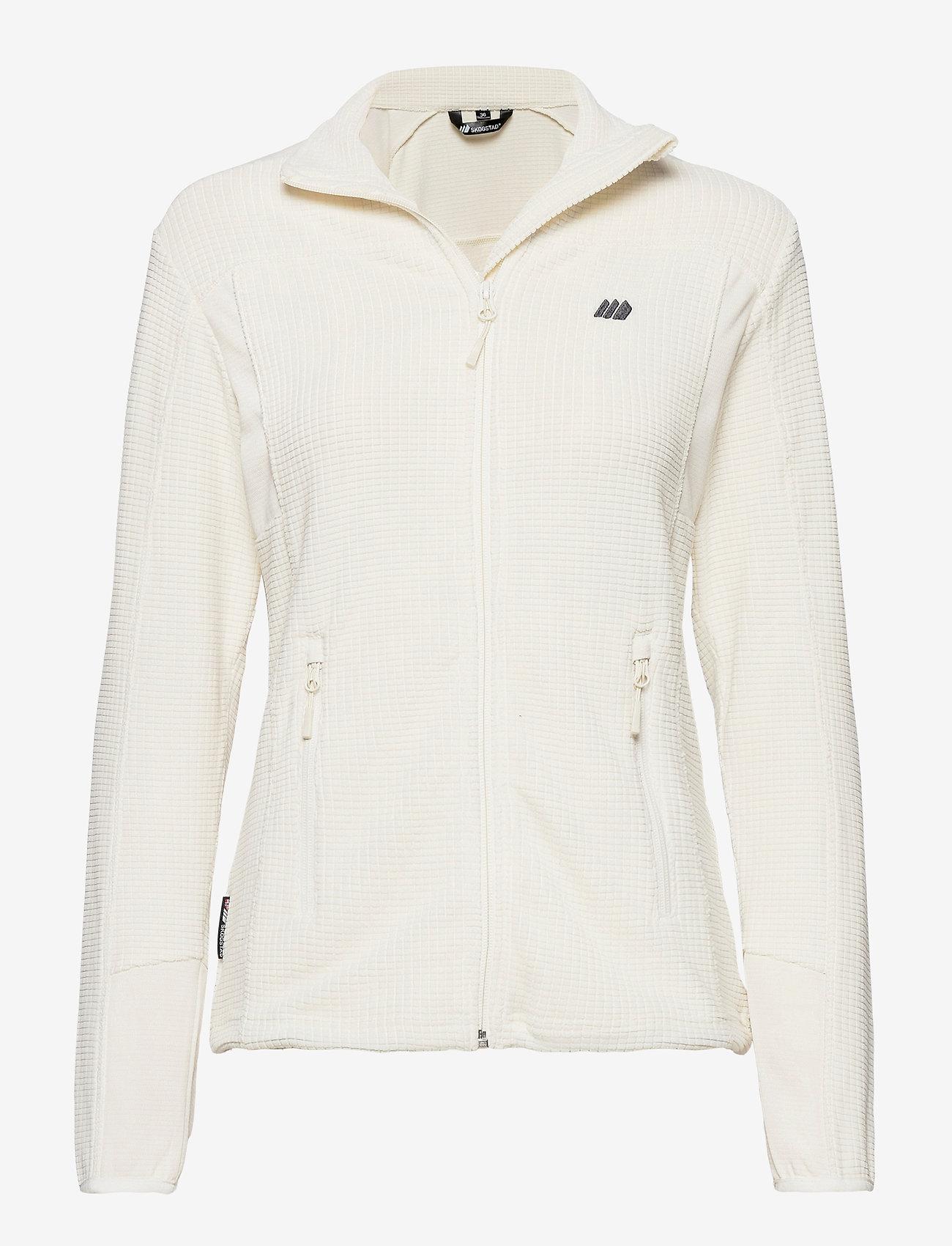 Skogstad - Røda fleece jacket - mid layer jackets - vanilla ice - 0