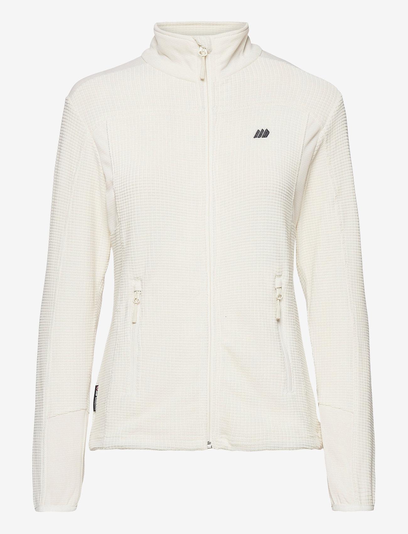 Skogstad - Røda fleece jacket - mid layer jackets - vanilla ice - 1