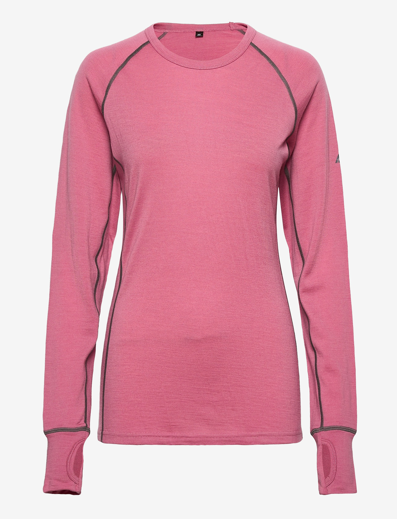 Skogstad - Nordstølen merino wool sweater - thermo ondershirts - heather rose - 0