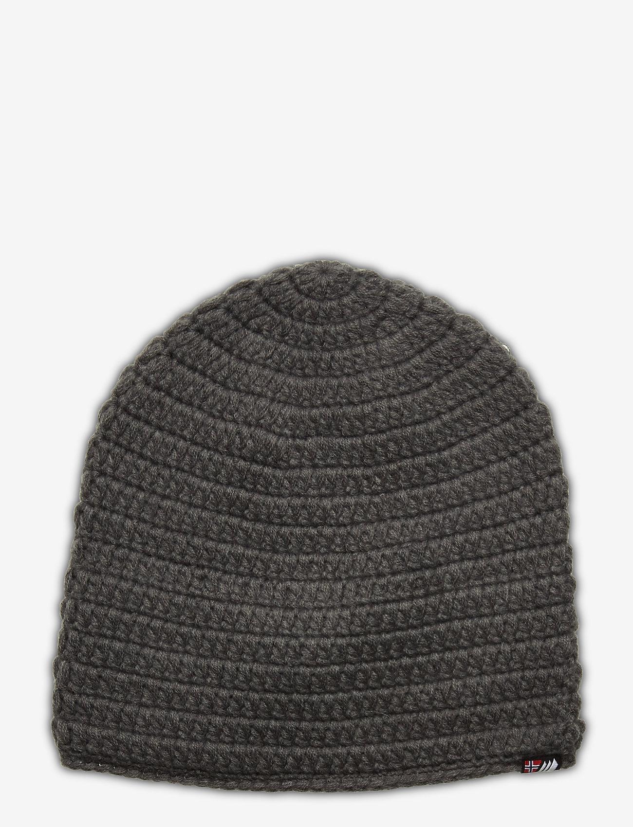 Skogstad - Fossvega crochet hat - mutsen - dark grey - 0