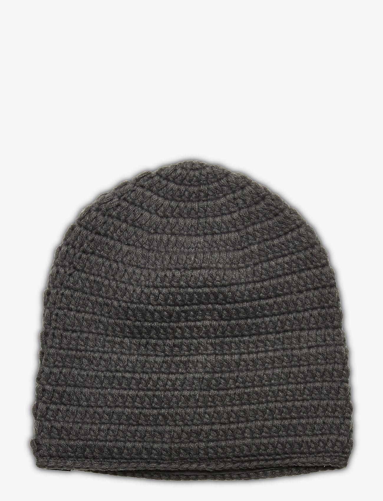 Skogstad - Fossvega crochet hat - mutsen - dark grey - 1