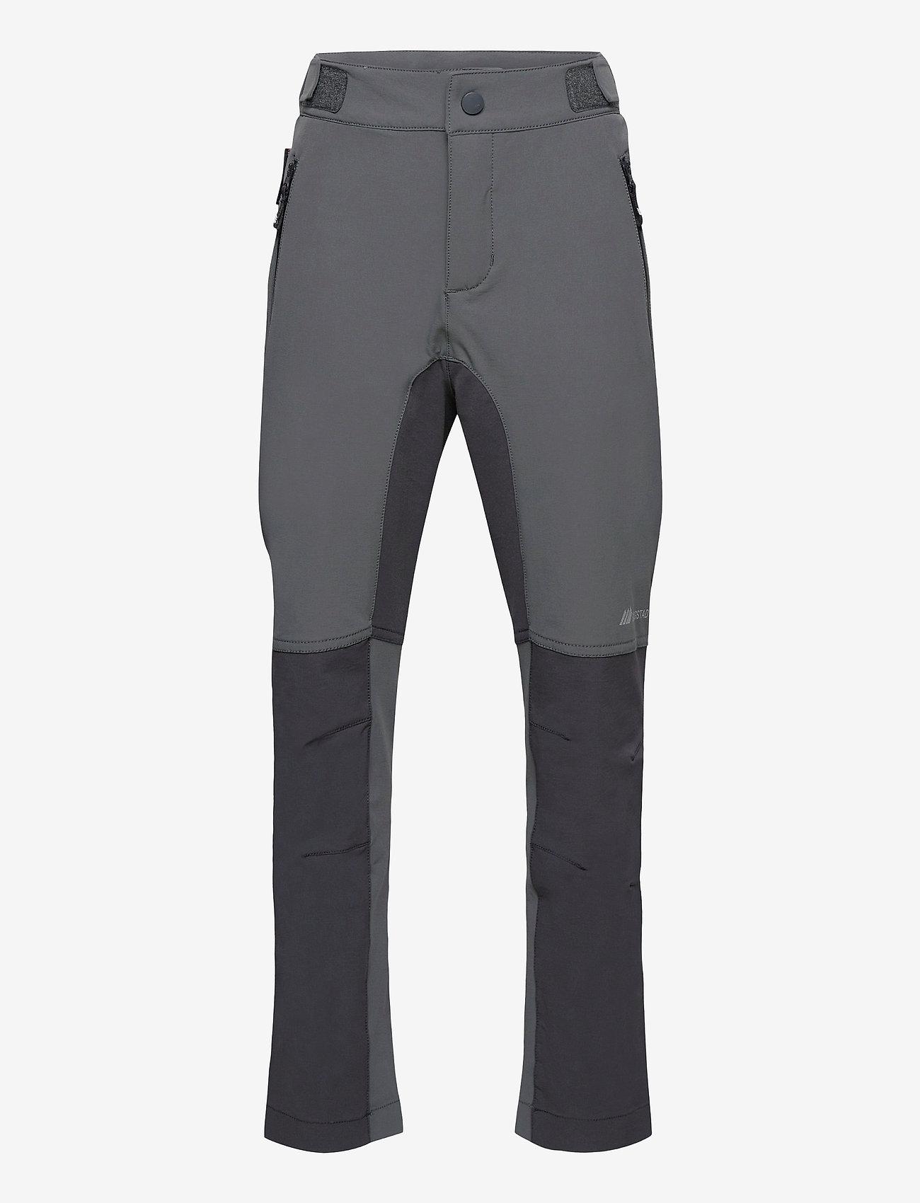 Skogstad - Tinden hiking trousers - underdele - dark grey - 0