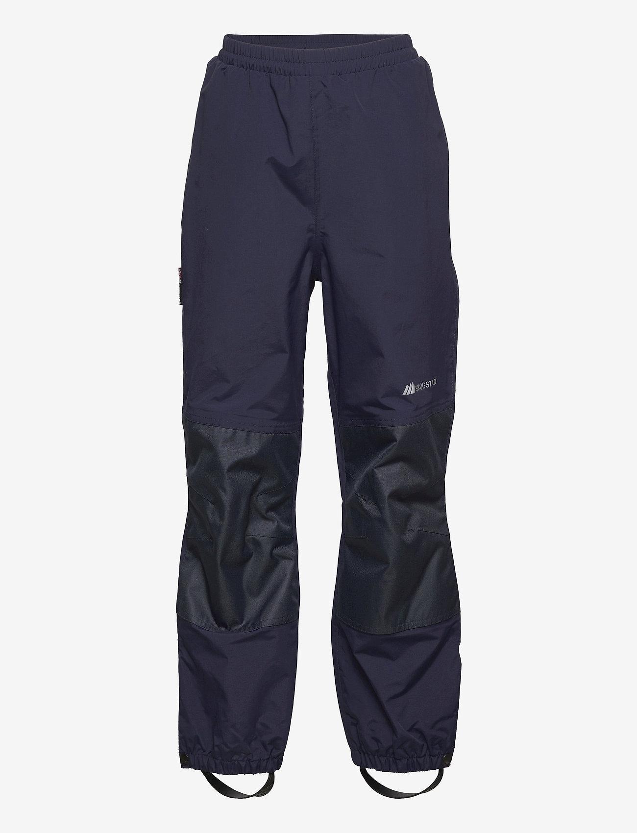 Skogstad - Plain 2-layer technical trouser - overtræksbukser - prime navy - 0
