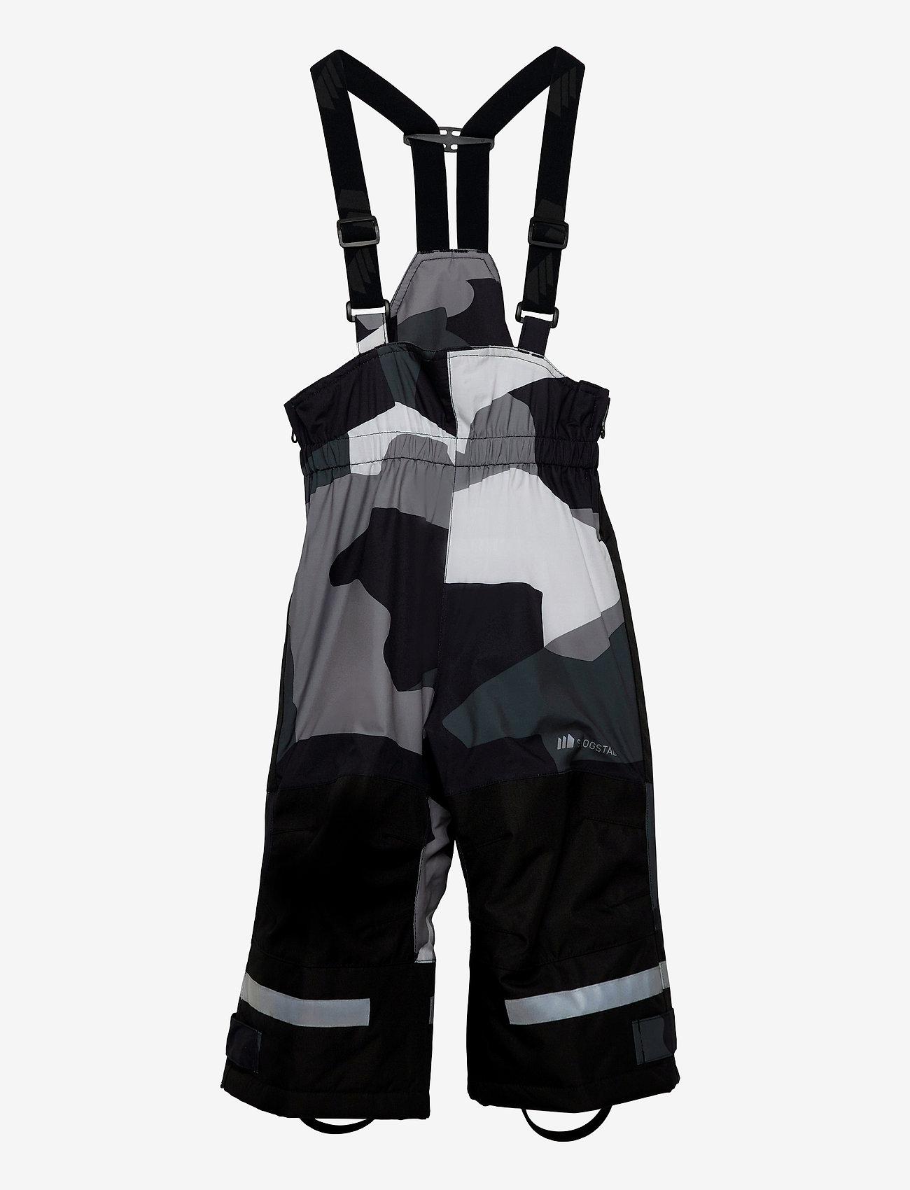 Skogstad - Rime 2-layer technical trouser - skibroeken - black camo pr - 0