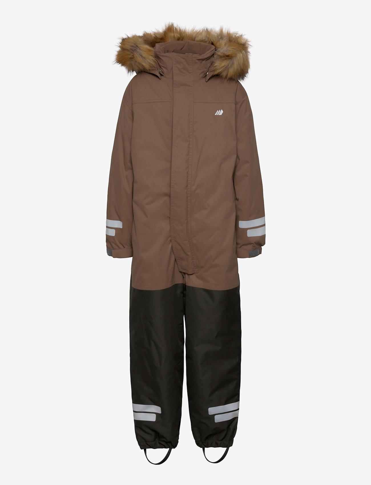 Skogstad - Sletteheida 2-layer technical snowsuit with PrimaLoft - vintertøj - brown - 0